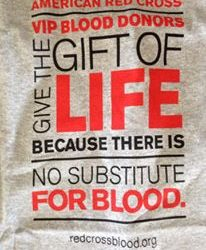 No substitute for blood